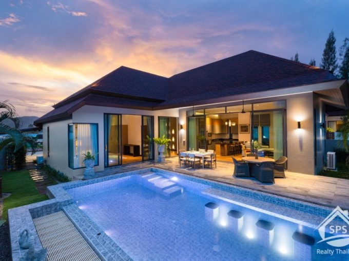 Hua Hin Real Estate Panorama Black Mountain