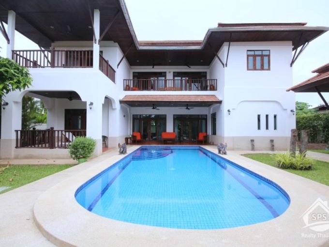 Hua Hin Real Estate 2 Story 4 Bedroom Villa For Sale Near Sai Noi Beach
