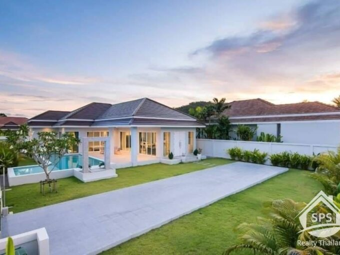 Hua Hin Real Estate Red Mountain Woodlands Residences Villa For Sale