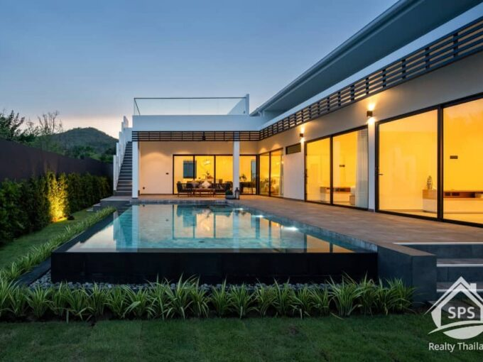 Hua Hin Real Estate REDUCED! 3 Bed Private Pool Villa for Sale at Sivana Hideaway