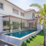 Hua Hin Real Estate Stunning Luxury Pool Villa For Sale at Stewart Park in Khao Tao
