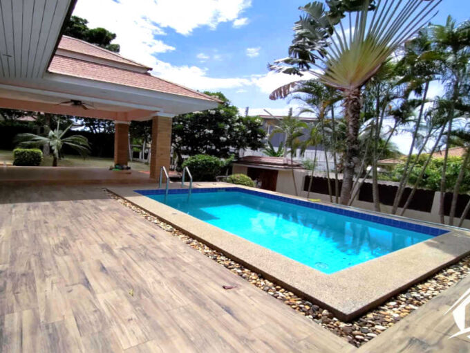 Hua Hin Real Estate 3 Bed Pool Villa For Sale at Paradise Village Hua Hin