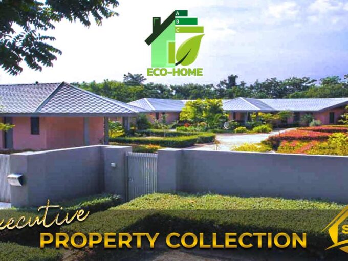 Hua Hin Real Estate 2 Rai Exclusive Eco-Friendly Architectural House on Springfield's Golf Course
